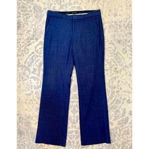 BANANA REPUBLIC Petite Logan Fit Navy Dress Pants
